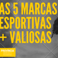 As 5 marcas mais valiosas do esporte
